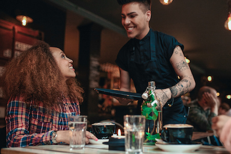 Better customer experience in bars and restaurants