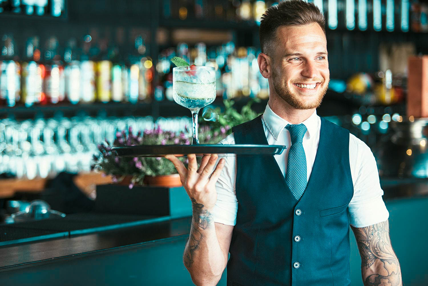 Waitstaff serve better cocktails with training